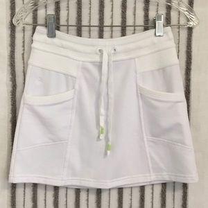 White Athleta Skirt